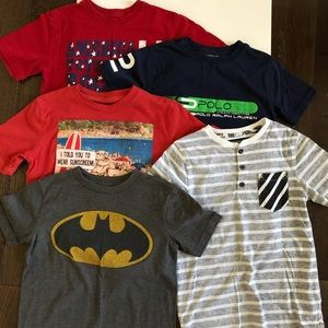Other - Boys T-shirt Bundle size Small 7/8
